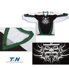 Custom Made Ice Hockey Jerseys Sublimação / Tackle Twill / Bordados Hóquei Custom Hóquei Jersey