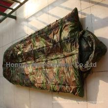 Woodland Camo Militaire Mummy Style Sac de couchage
