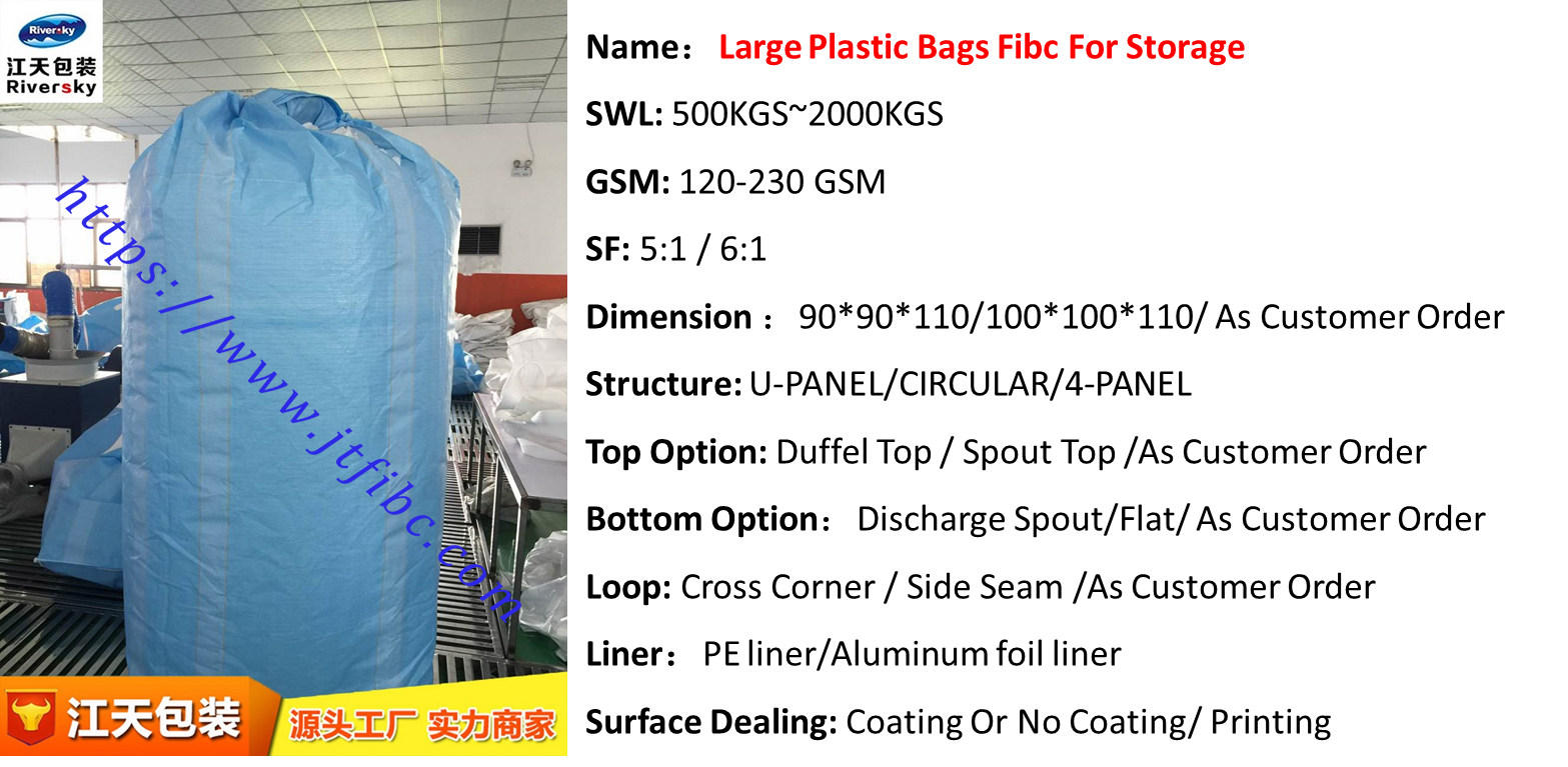 extra large plastic bags for storage