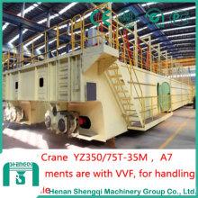 Grúa de fundición de acero fundido de elevación de servicio pesado-Yz300 / 75t-35m