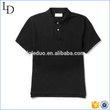 Schwarze Baumwolle Piqué Golf Polo Männer 100% Baumwolle Großhandel in China