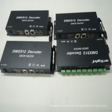 Regulador del amortiguador de 24Channels DMX RGB LED
