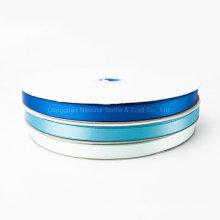 "Custom Logo /Design 1"" 25mm Single Face Polyester Satin Ribbon for Decoation"