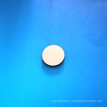 Lentille en silicone avec revêtement DLC de 25,4 mm de diamètre