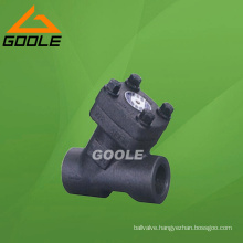 Forged Steel Y Type Check Valve (GAH65H)
