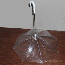 Transparent PVC Pet Dog Umbrella Special Shape