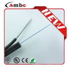 Высокопроизводительная G657A1 Bend Residence 1/2/4 core butterfly FTTH Оптическое волокно Проводка кабеля