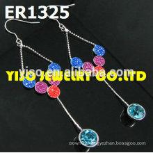 bridal jewelry crystal earrings