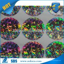 Compre por atacado direto do autocolante adesivo adesivo barato holograma personalizado