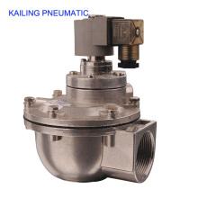Válvula de ar do KLF série pulso pneumático / diafragma estrutura/AC110V, 220V, DC24V