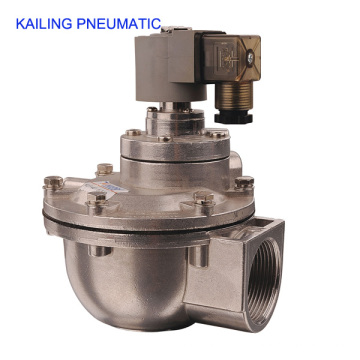 KLF series pneumatic pulse air valve/ diaphragm structure/AC110V,220V,DC24V