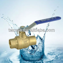 Full port welded brass ball valves with low lead(sweat*sweat) C46500