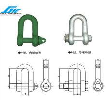 American Standard High-Strength D-Steel Shackle