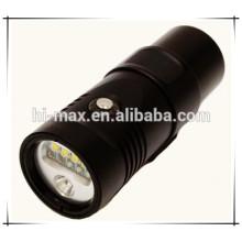 Ultra Bright Wiederaufladbare Video Dive Lamp Weitwinkel Tauch Led Licht