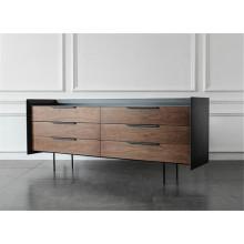 Personalización de gabinete de madera de diseñador