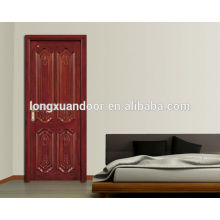 mdf/hdf/pvc/melamine wood door design , door wood design, interior door wood design