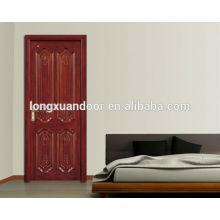 mdf/hdf/pvc/melamine wood door design , door wood design, interior door wood design