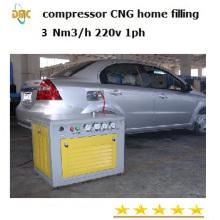 Compresseur CNG pour véhicule domestique, 5.0nm3 / Hr (DMC-5/200)