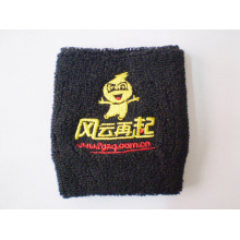 Embroidery Sport Cotton Wristband (DL-WS-24)