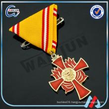 3d eagle red cross medal keys