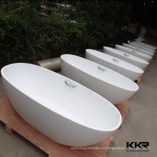 Акриловый твердый поверхностный каменный freestanding ушат ванны Индии