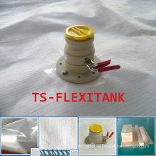 Carga de Flexitank superior e inferior de la descarga para el transporte de petróleo
