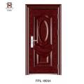Fuente de la fábrica Tamaño de la puerta estándar popular Diseño de la puerta principal de acero
