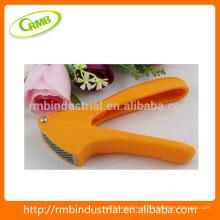 Plástico Aço Inoxidável prático prensagem de alho