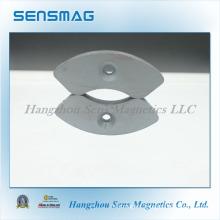 Manufacture Customized Ferrite Arc Magnet for Motor