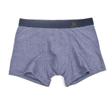 Business men cotton high quality customized order boxer briefs panty breathable four corner underwear