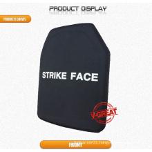 Single-Curve Bulletproof Plate