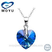 2015 fashion jewelry gemstone pendant jewelry set with low price high quality silver jewelry wholesale