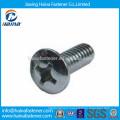Stainless steel pan head, semi-sunken head screw