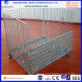 Складная стальная Проволока сетка контейнеры для склада
