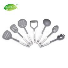 Ensemble d'outils de cuisine en nylon antiadhésif, 7 pièces