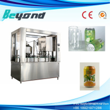 Non Carbonated Juice Automatic Can Filling Machine