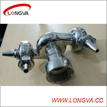 Stainless Steel Female Thread Rotary Washing Ball