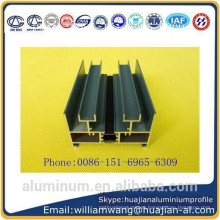 China lowest price windows aluminium profile in shandong province,weifang city
