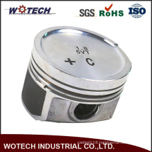 Mirror Polishing and Thread Turning Engine Piston Forged Part