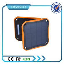 Cargador del USB del banco 4.2A de la energía solar de la eficacia alta 5600mAh