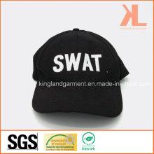 Perceuse en coton militaire Black Swat broderie casquette de baseball