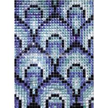 Glass Mosaic Mirror Diamond Mosaic Pattern (HD030)