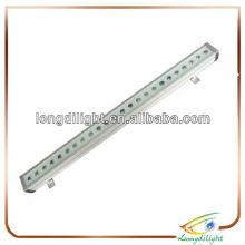 24 * 3w im Freien rgb Tri LED-Lichtwand-Unterlegscheibenbefestigung