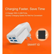 4 Port Travel Charger Charging Station