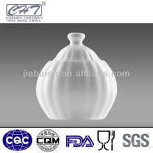 Fine bone china elegant ceramic sugar pot