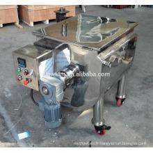 Mélangeur de mélangeur de ruban liquide et poudre horizontale