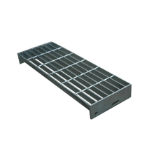 Stable steel grating stair streads ladders for stairs