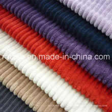 China Manufacture All Kinds of Polyester Corduroy Fabric