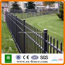 PVC coated steel tube fence