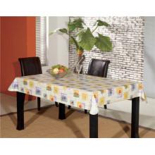 Forro cuadrado de la franela de la tabla que apoya el modelo impreso PVC Oilproof, característica impermeable